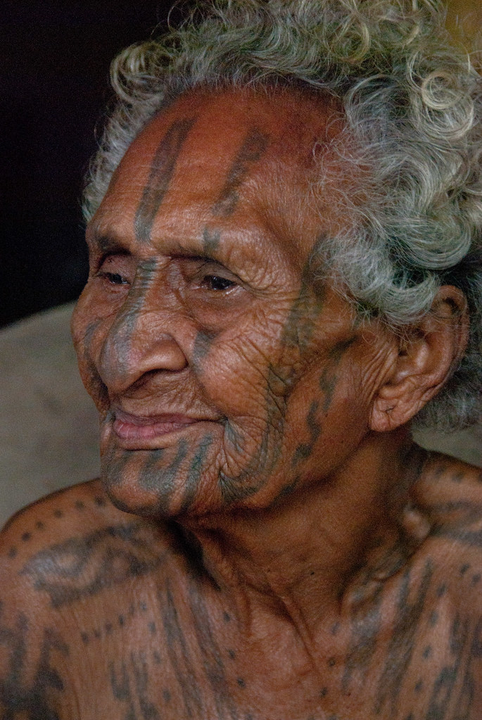 Agaru Proudly Tattooed She Is One Of The Last Motu Ideas And Designs