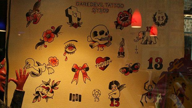 Tattoo Shops Offer 13 Tats In Honor Of Friday The 13Th Wnyc Ideas And Designs