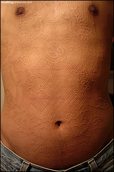 Best Scarification Bodysuit In The World Bme Tattoo Ideas And Designs