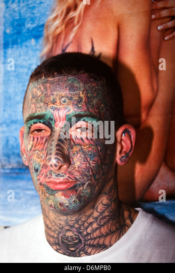 Extreme Tattooing Stock Photos Extreme Tattooing Stock Ideas And Designs