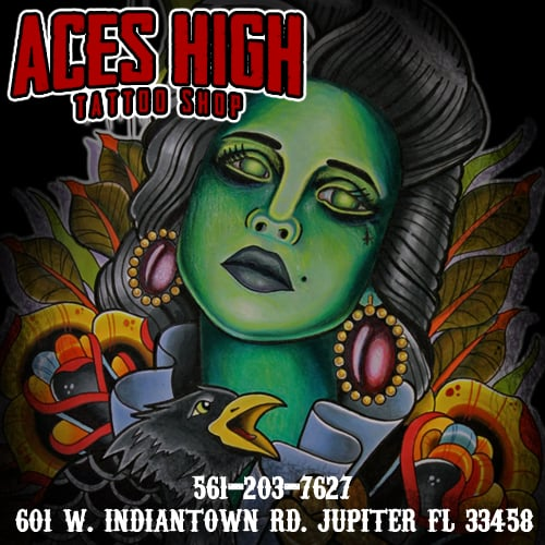Aces High Tattoo Shop 38 Photos 25 Reviews Tattoo Ideas And Designs