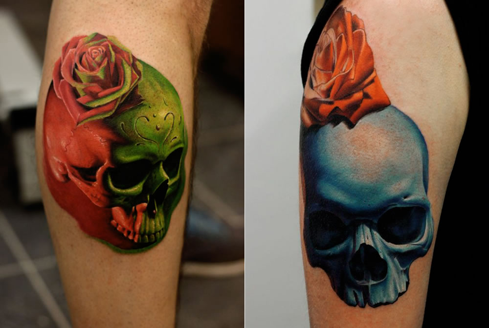 Wicked Skull And Eye Tattoos Scene360 Ideas And Designs