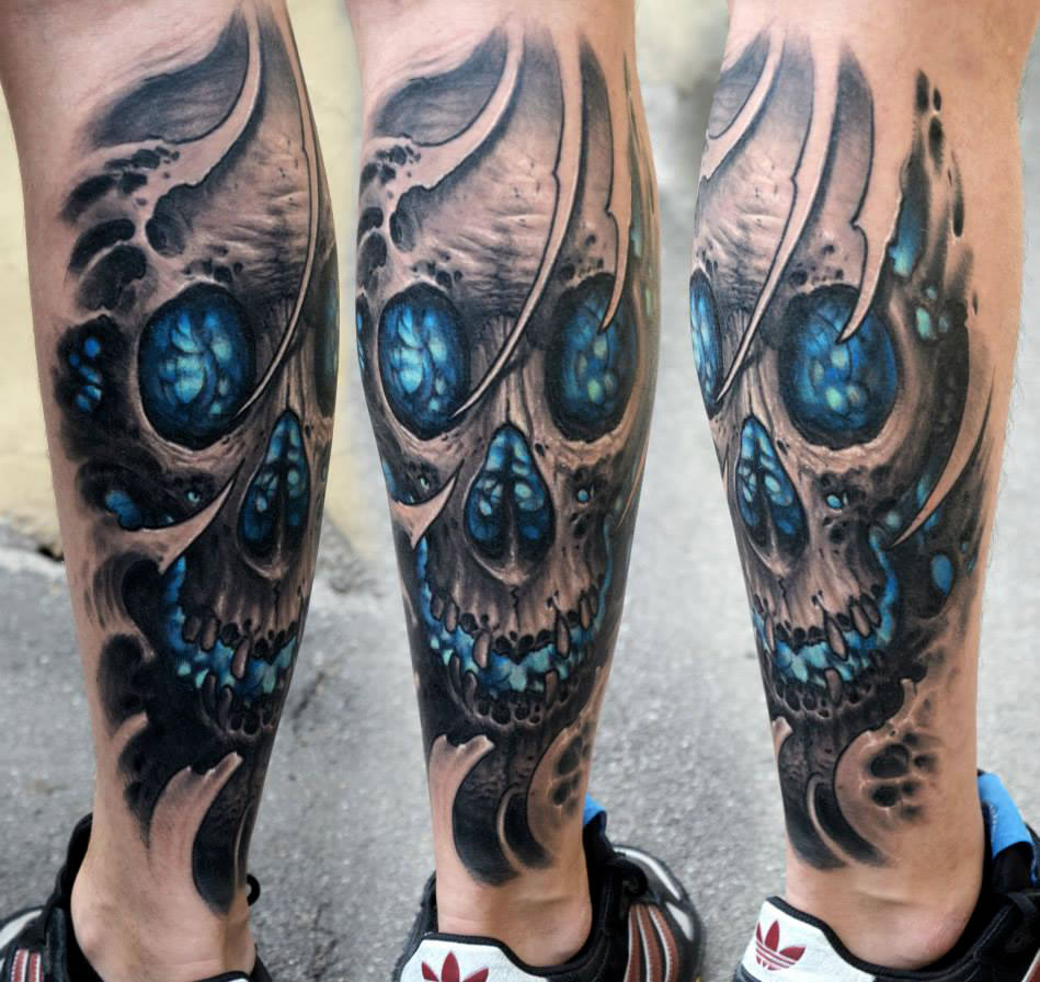 Biomechanical Tattoos By Stepan Negur Scene360 Ideas And Designs