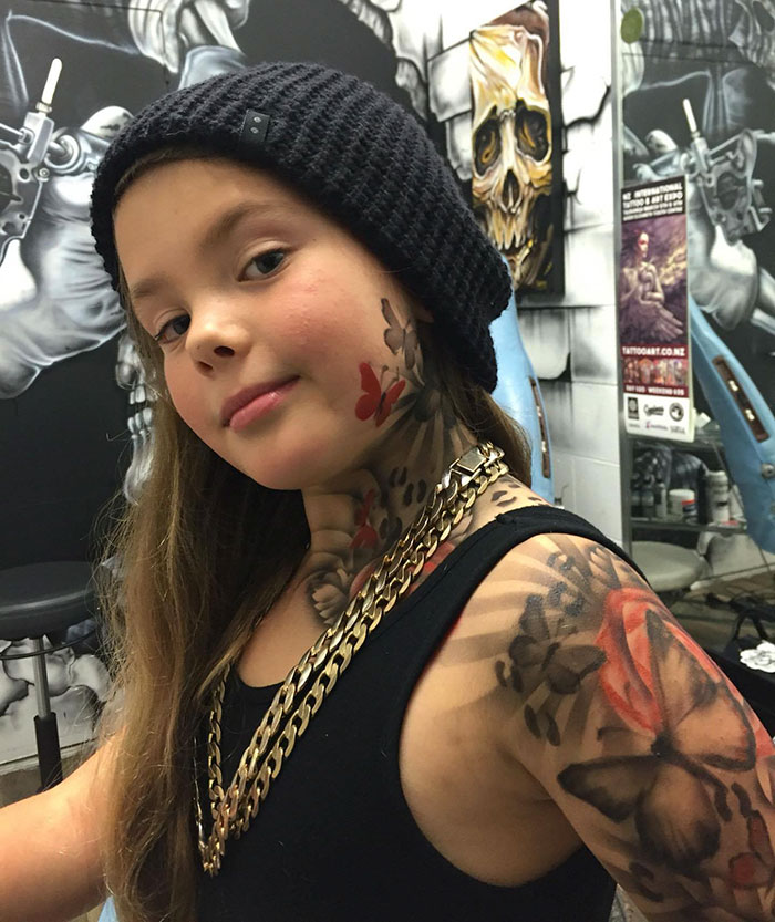 Artist Gives Sick Kids Awesome Tattoos To Make Life In Ideas And Designs