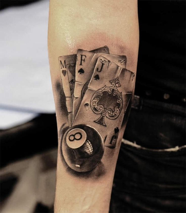 9 Stylish And Amazing Eight Ball Tattoo Designs Ideas And Designs