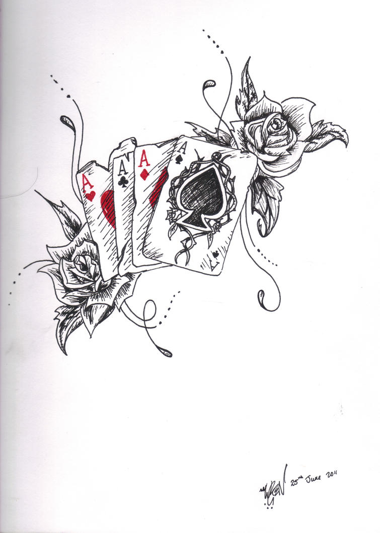 Ace Tattoo Design By Toiger On Deviantart Ideas And Designs