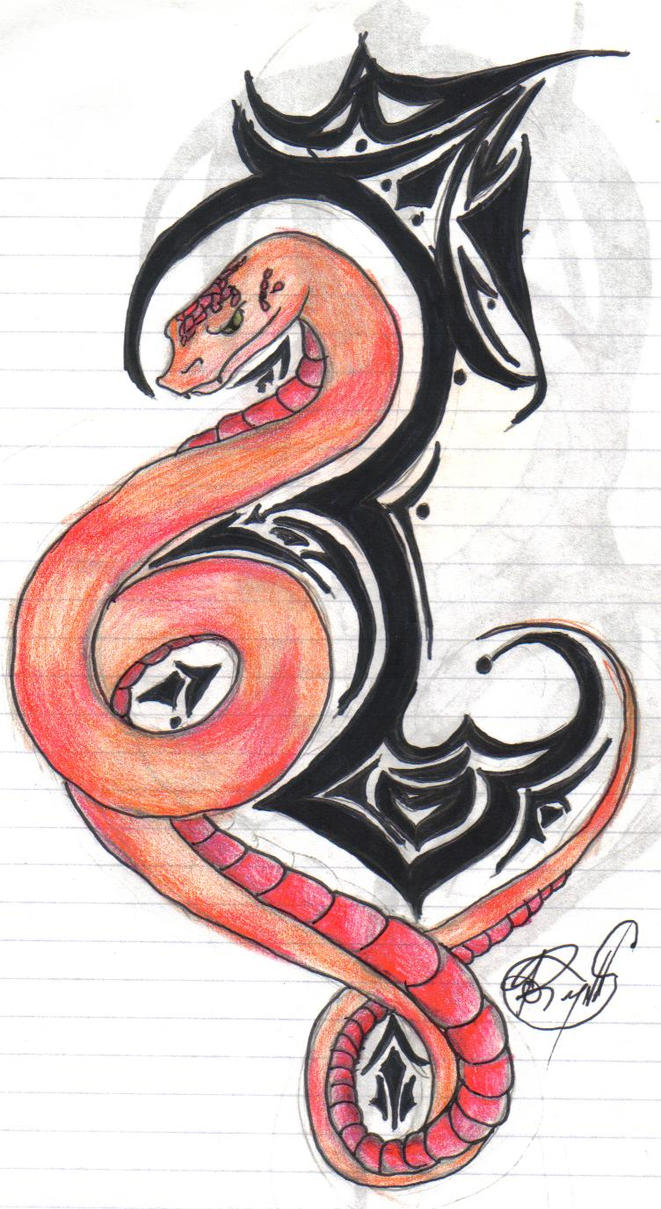 Snake Tattoo Design By Silver Wolf1982 On Deviantart Ideas And Designs