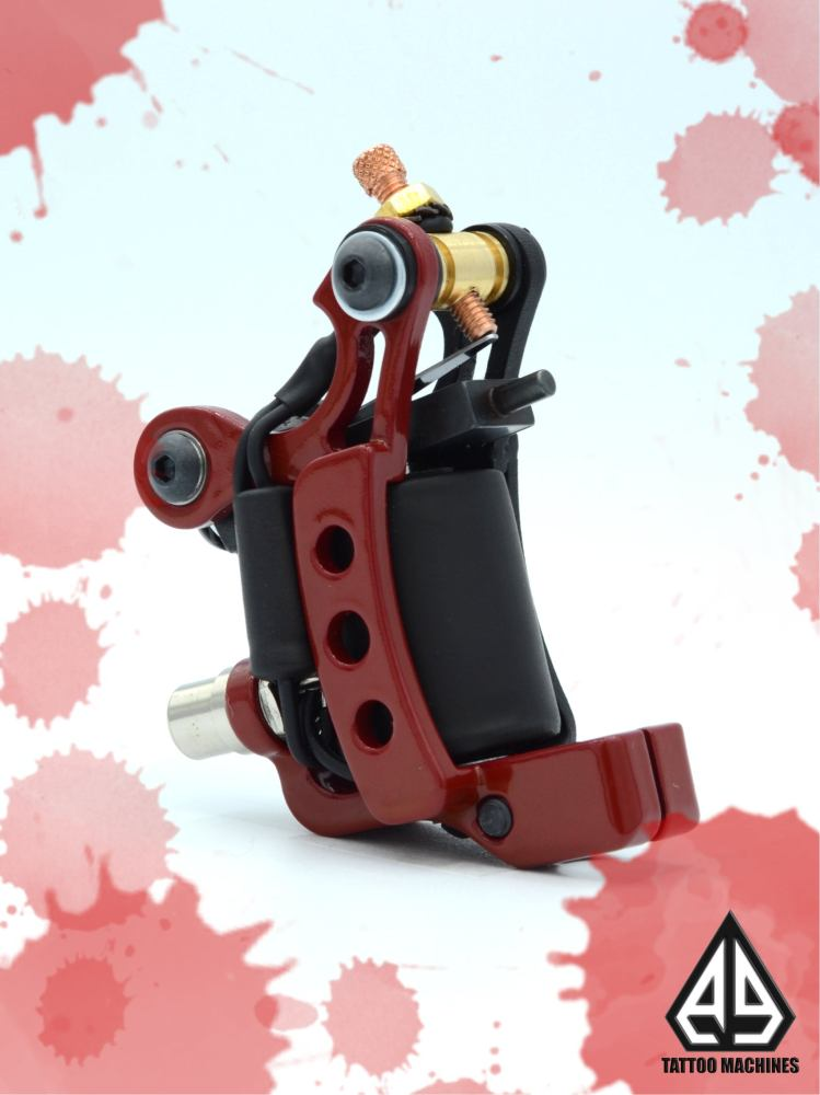 Ae Tattoo Machine In Red Color Ae Tattoomachines Ideas And Designs