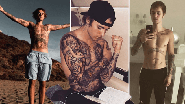 Justin Bieber Tattoo Guide And Meanings From New Face Ideas And Designs