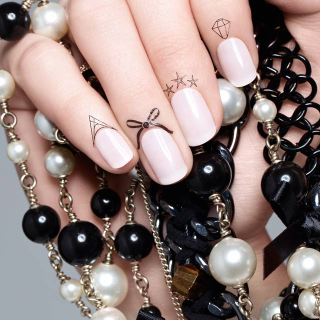 Cuticle Tattoos And The Bare Nail Peekaboo Bows And Nails Ideas And Designs