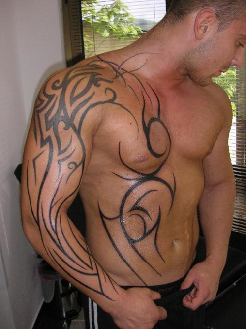 Tribal Tattoos For Men Trendy Fashionable Dresses Ideas And Designs