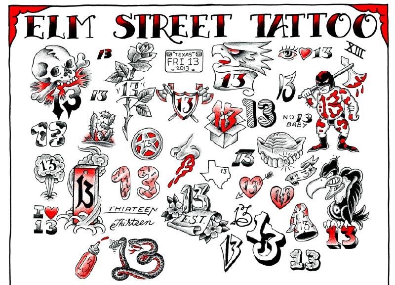 Tattoo History Friday The 13Th And Oliver Peck Tattoo Com Ideas And Designs