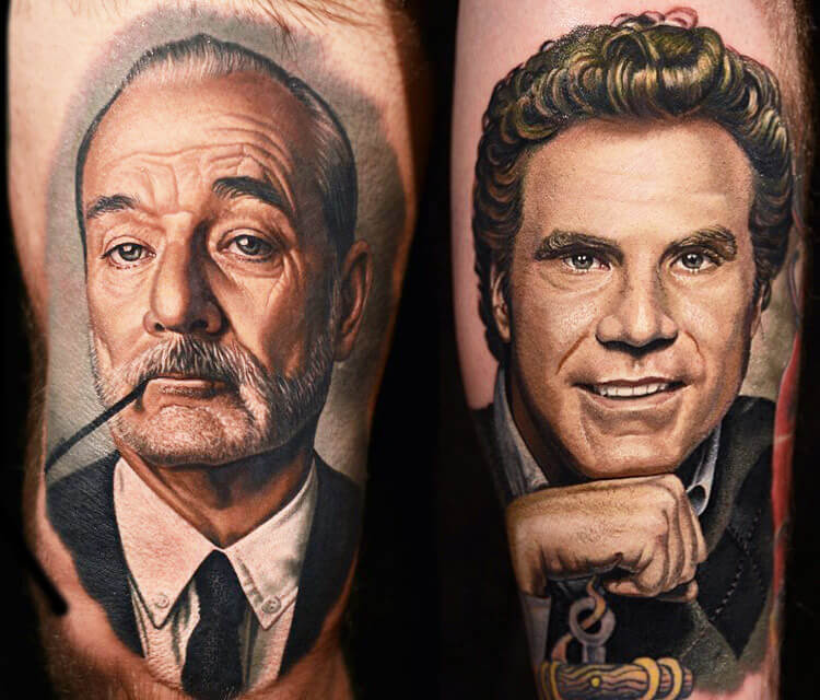 Bill Murray Will Ferrel By Nikko Hurtado No 133 Ideas And Designs