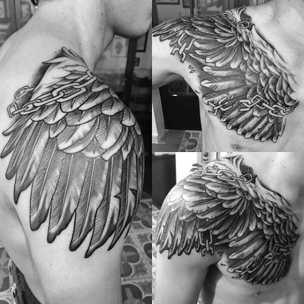 The 109 Best Wing Tattoos For Men Improb Ideas And Designs