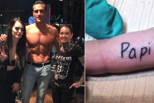 Paige Gets Alberto Del Rio Inspired Tattoo Ideas And Designs