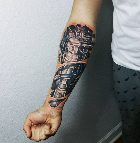 50 3D Biomechanical Tattoos Designs And Ideas 2018 Ideas And Designs