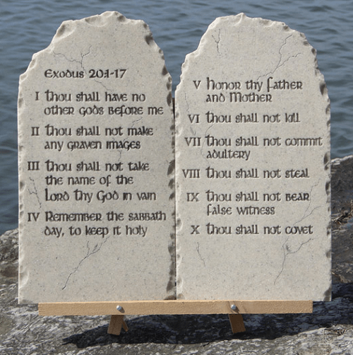 A Feast For The Eyes 10 Commandments Ideas And Designs