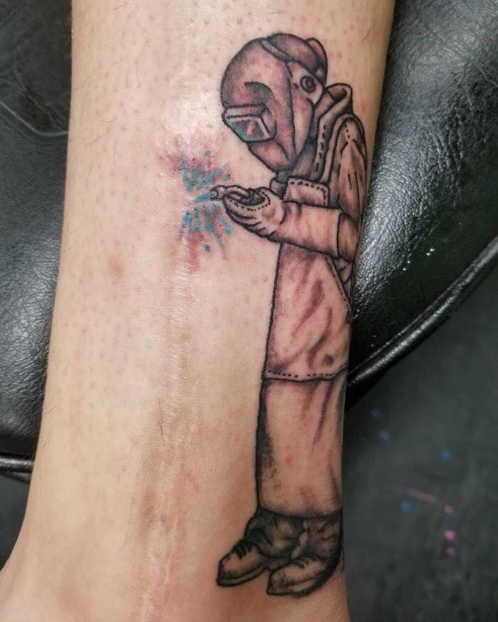 50 Times Wanted Tattoos To Cover Up Their Scars And Ideas And Designs