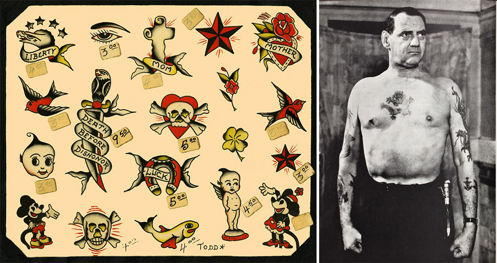 Hello Sailor The Nautical Roots Of Popular Tattoos Ideas And Designs