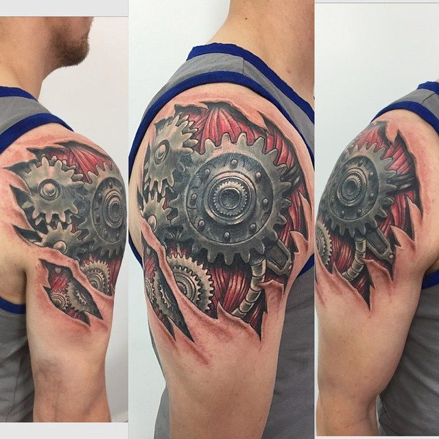 150 Creative Biomechanical Tattoos Ultimate Guide July 2019 Ideas And Designs