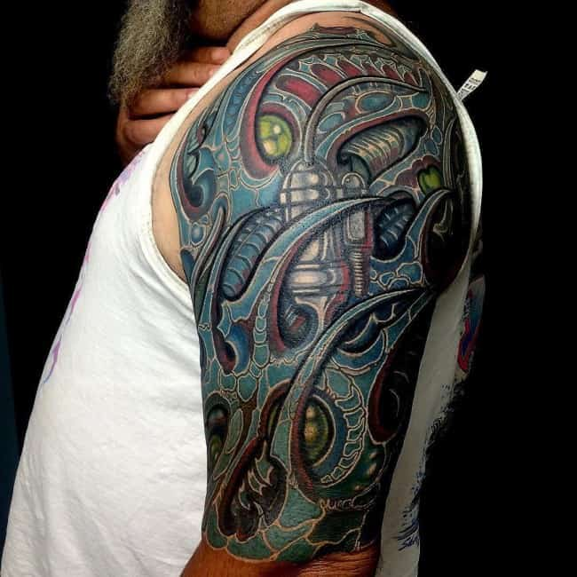 150 Creative Biomechanical Tattoos Ultimate Guide Ideas And Designs