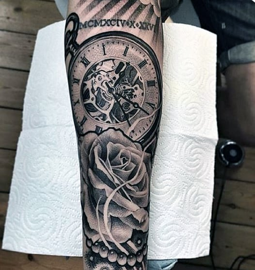 200 Popular Pocket Watch Tattoo And Meanings August 2018 Ideas And Designs