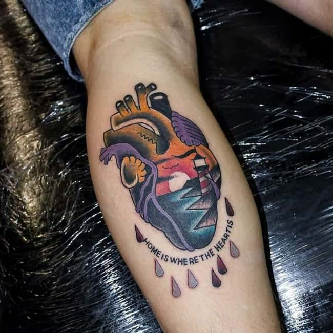 150 Calf Tattoos For Men Women Ultimate Guide July 2019 Ideas And Designs
