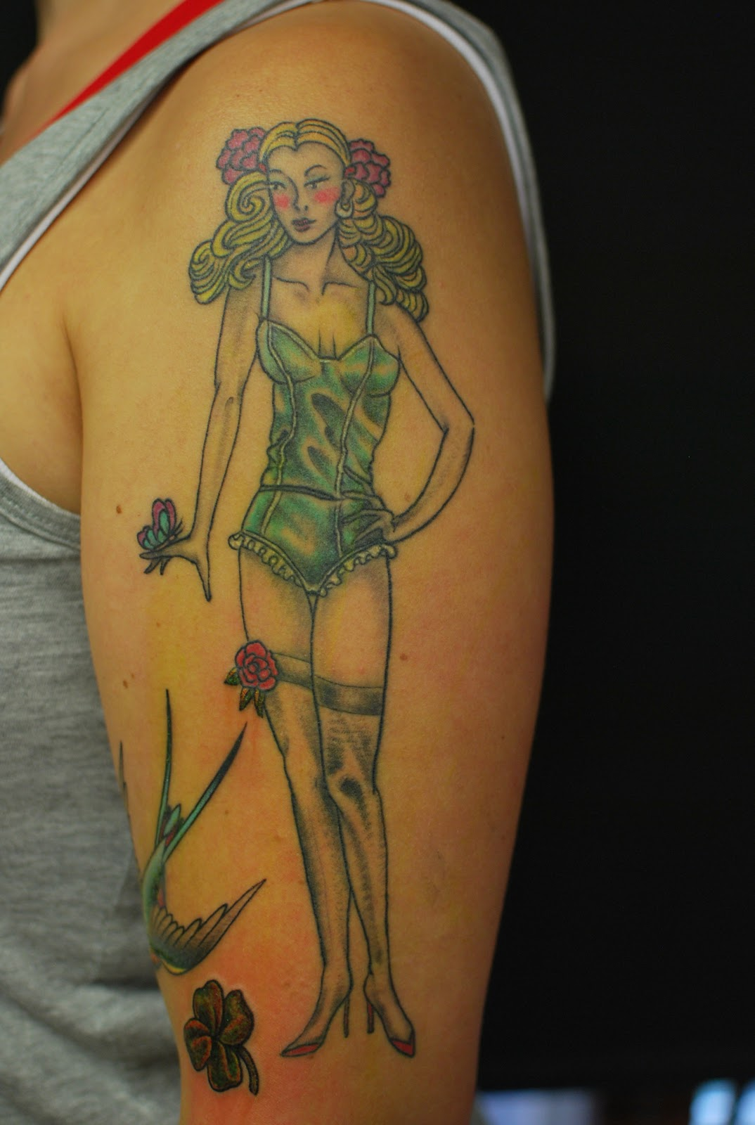 Tattoo Pin Up Girls 6K Pics Ideas And Designs