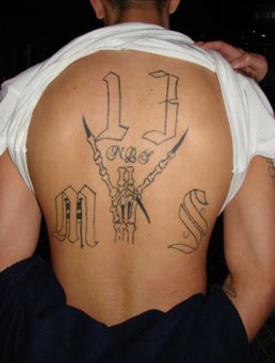 Prison Tattoos And Their Meanings Hubpages Ideas And Designs