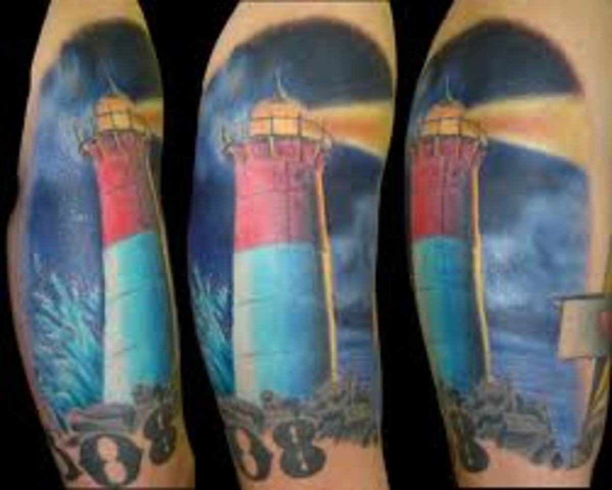 Lighthouse Tattoo Designs Ideas And Meanings Tatring Ideas And Designs