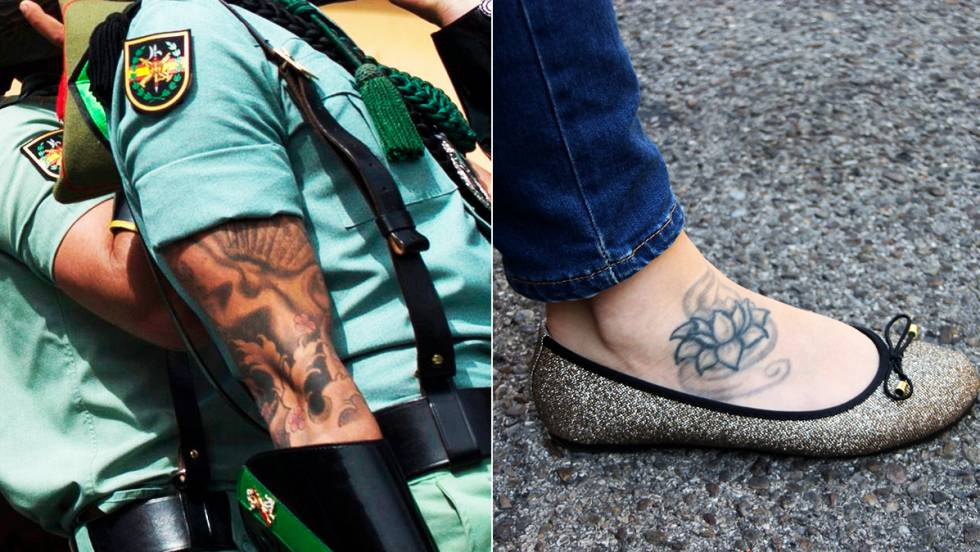 Spanish Military How A Tattoo Can Stop You Joining The Ideas And Designs