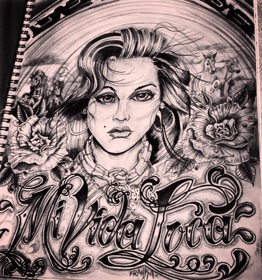 Tattoo Tattooart Chicano Mividaloca Art Sketching Drawing Ideas And Designs
