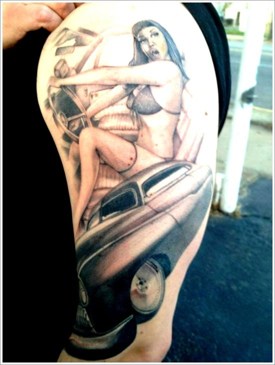Tatuajes Pin Up Con Chicas De Los Años 20 30 40 50 Y 60 Ideas And Designs