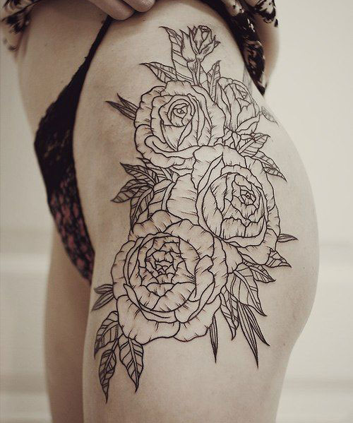 51 S*Xy Thigh Tattoos For Women Cute Designs And Ideas Ideas And Designs
