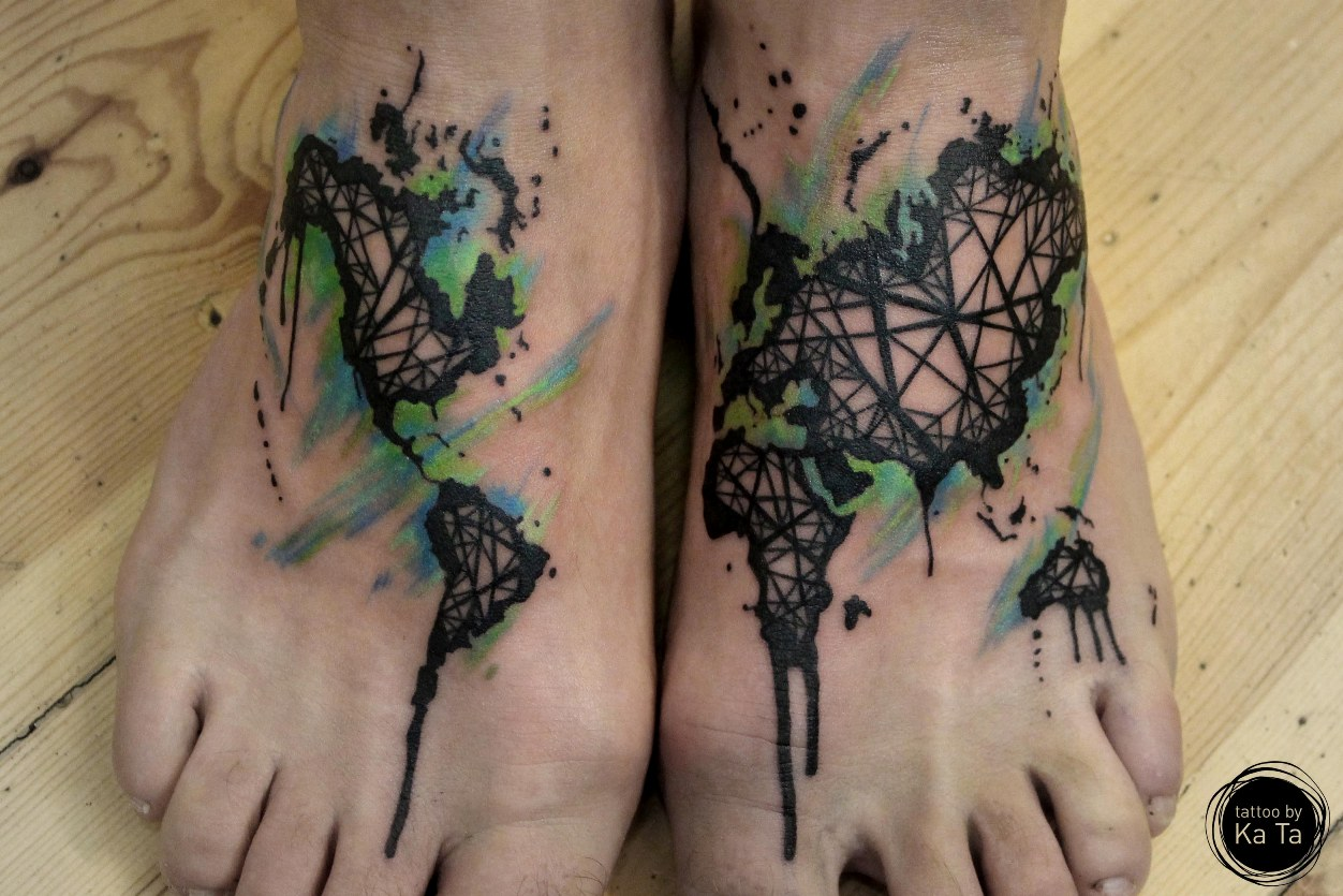 40 Attractive Foot Tattoo Designs Ideas And Designs