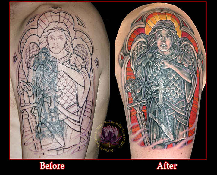 James Is Giving His Advanced Cover Ups For Tattooists Ideas And Designs