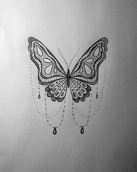 4 Lace Butterfly Tattoo Designs 572 Styles 2018 Ideas And Designs