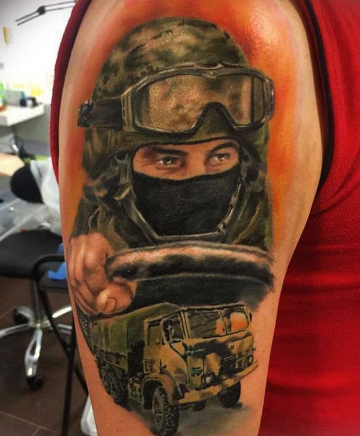 20 Military Tattoo Designs Ideas Design Trends Ideas And Designs
