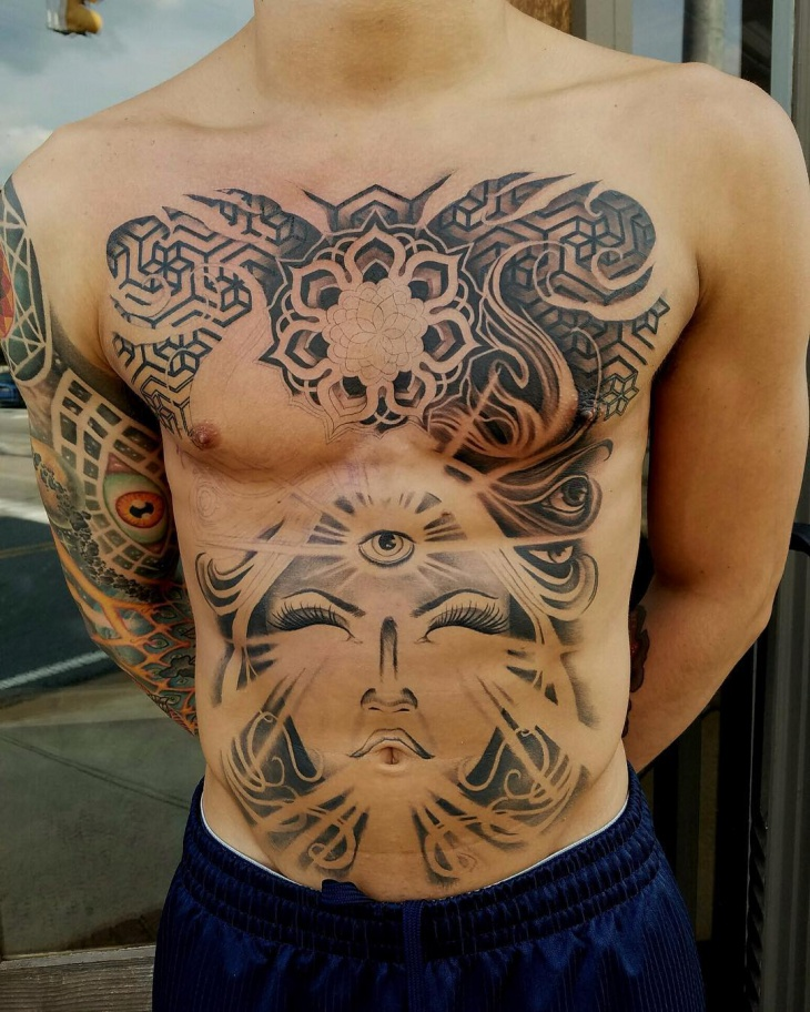 21 Stomach Tattoo Designs Ideas Design Trends Ideas And Designs