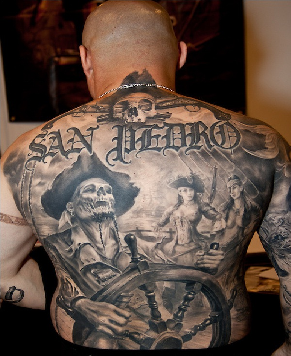 Pirate Tattoos Ideas And Designs