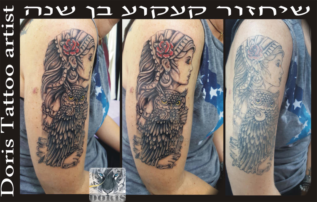 Gypsy Reconstruction One Year Old Tattoo By Doristattoo Ideas And Designs
