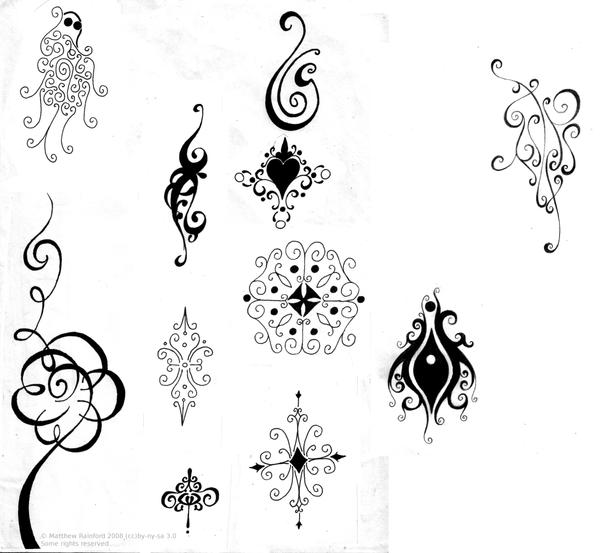Abstract Tattoos By Bobbu On Deviantart Ideas And Designs