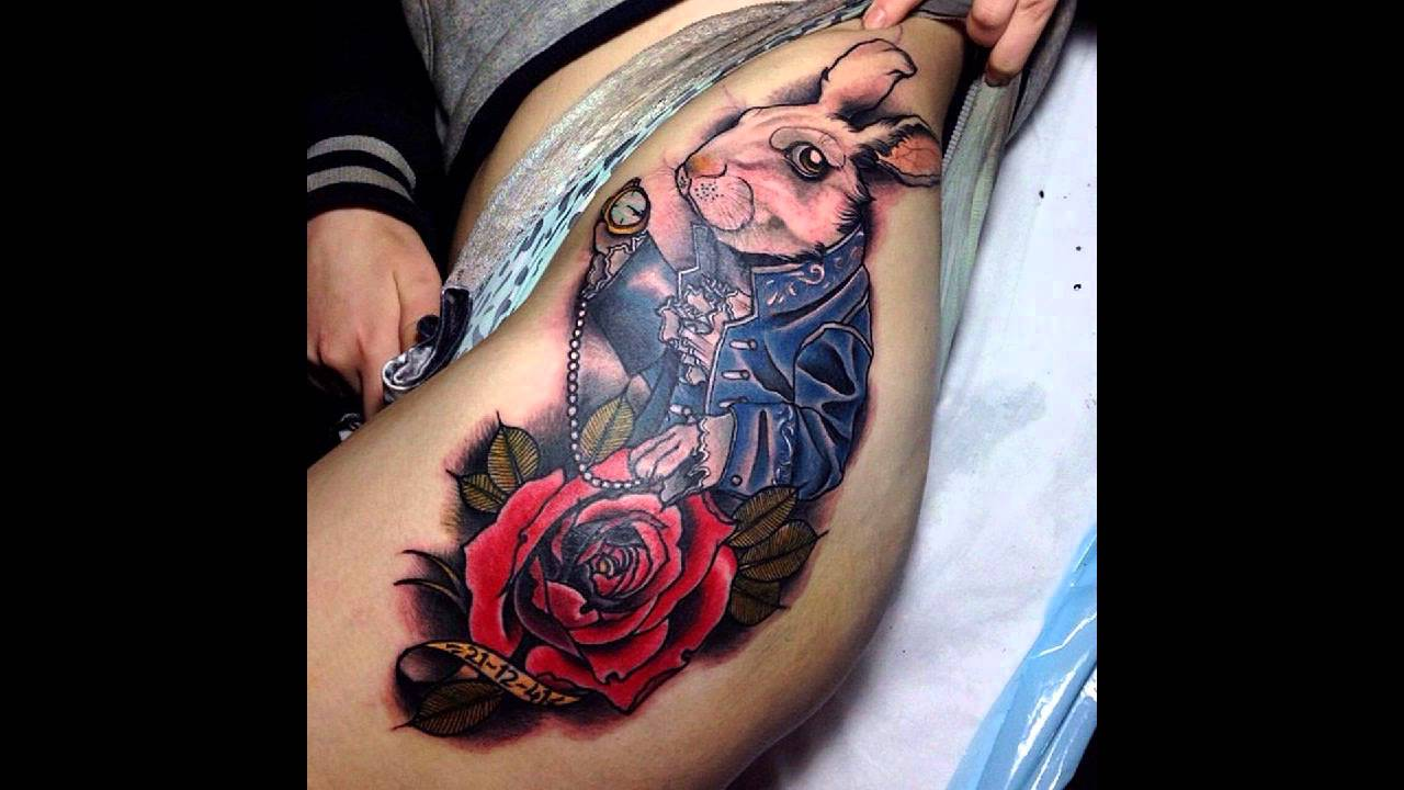 35 Fairy Alice In Wonderland Tattoos Youtube Ideas And Designs