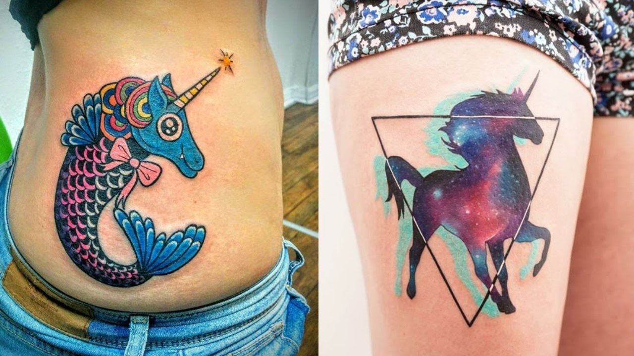 The 20 Most Fabulous Unicorn Tattoos Youtube Ideas And Designs