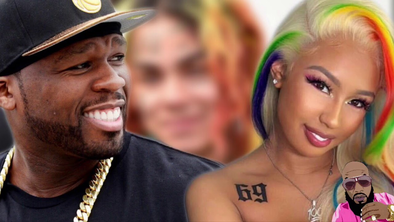 50 Cent And Meek Mill Throw Shade At 6Ix9Ine Girlfriend Ideas And Designs