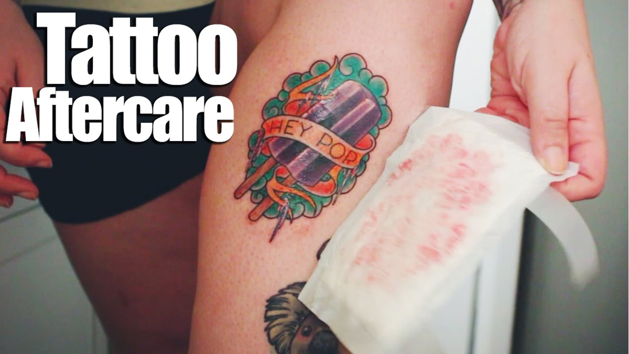Tattoo Aftercare Youtube Ideas And Designs