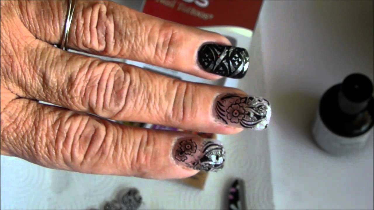Kiss Nail Tattoo Youtube Ideas And Designs