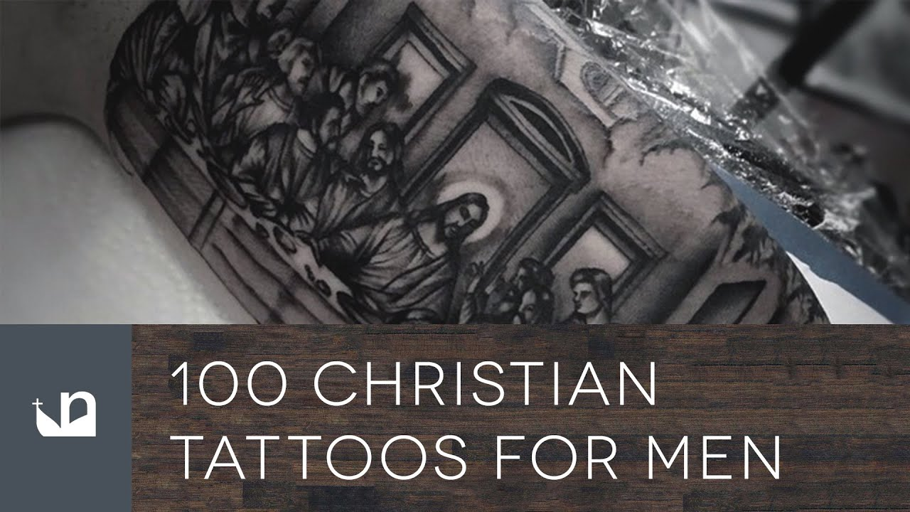 100 Christian Tattoos For Men Youtube Ideas And Designs