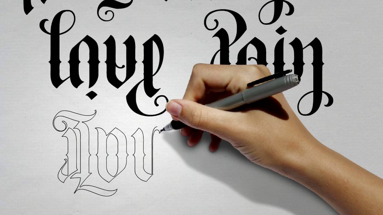 Flipscript Ambigram Tattoos Youtube Ideas And Designs