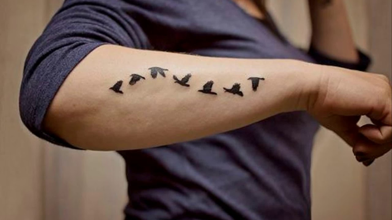 Small Tattoos For Men On Arm Designs Youtube Ideas And Designs